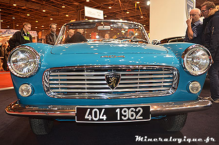 coupe peugeot 404 retromobile 2014