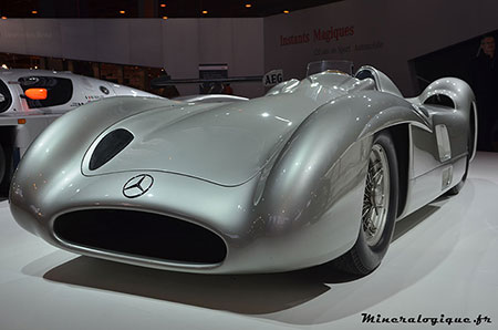 mercedes w196r stromlinie 1954 retromobile 2014