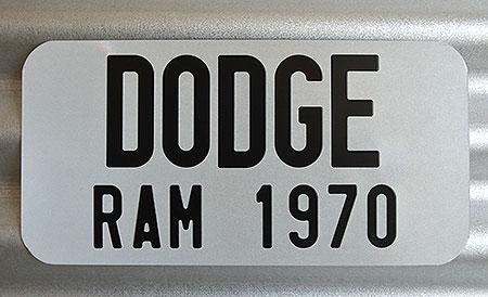 cache plaque d 39 immatriculation pour americaine en aluminium. Black Bedroom Furniture Sets. Home Design Ideas