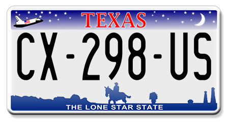 plaque am ricaine usa texas 30x15 cm the lone star state. Black Bedroom Furniture Sets. Home Design Ideas