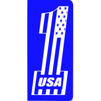 plaque-immat-usa-one-drapeau-bleu-grand