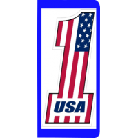 plaque-immatriculation-usa-one-drapeau-grand