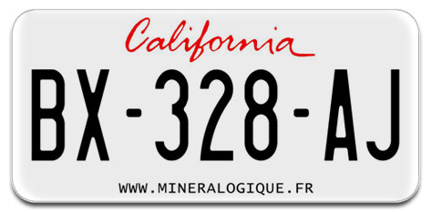 Plaque-immatriculation-californie