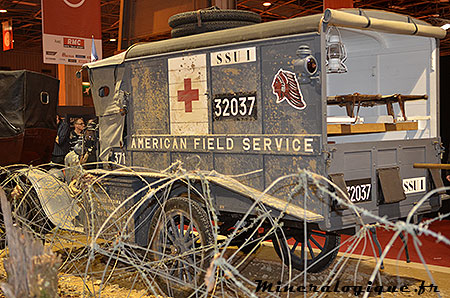 american field service retromobile 2014