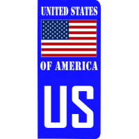 plaque-immat-usa-520-drapeau-united-state-of-america