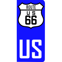 plaque-immat-usa-route66-us